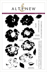Altenew - Clear Stamps - Strength Blooms