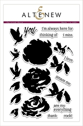 Altenew - Clear Stamps - Painted Rose
