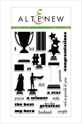 Altenew - Clear Stamps - Trophy Life