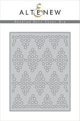 Altenew - Cutting Dies - Doodled Dots Cover Die