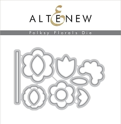 Altenew - Cutting Dies - Folksy Florals
