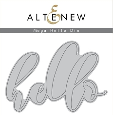 Altenew - Cutting Dies - Mega Hello