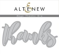 Altenew - Cutting Dies - Mega Thanks