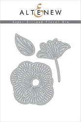 Altenew - Cutting Dies - Super Striped Floral