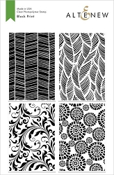 Altenew - Clear Stamps - Block Print