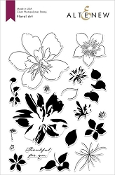 Altenew - Clear Stamps - Floral Art