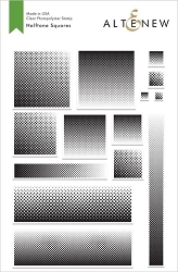 Altenew - Clear Stamps - Halftone Squares