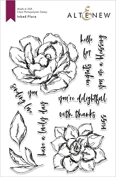 Altenew - Clear Stamps - Inked Flora