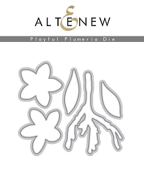 Altenew - Cutting Dies - Playful Plumeria