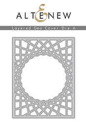 Altenew - Cutting Dies - Layered Geo Cover A
