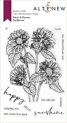 Altenew - Clear Stamps - Paint-A-Flower: Sunflower Outline