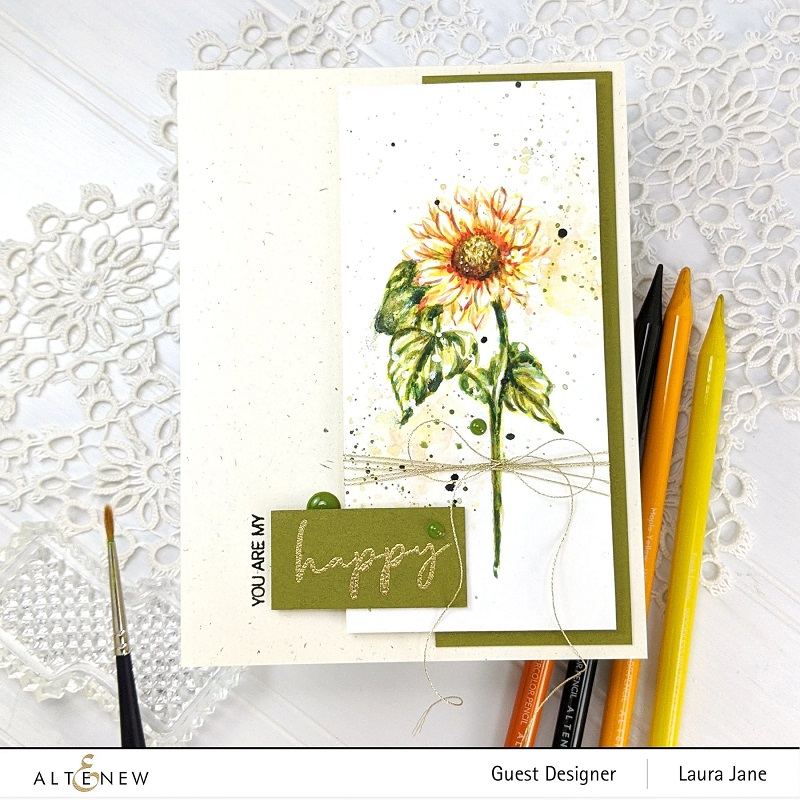 Altenew Clear Stamps Paint A Flower Sunflower Outline Giant rose petal template free. altenew clear stamps paint a flower sunflower outline