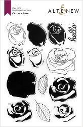 Altenew - Clear Stamps - Cartoon Rose