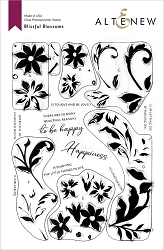 Altenew - Clear Stamps - Blissful Blossoms