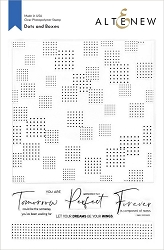 Altenew - Clear Stamps - Dots and Boxes
