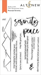 Altenew - Clear Stamps - Peaceful Serenity