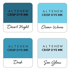 Altenew - Cool Summer Nights 4 color Ink Cube Set