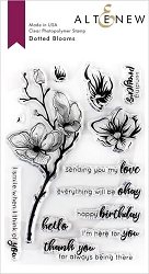 Altenew - Clear Stamps - Dotted Blooms