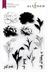 Altenew - Clear Stamps - Frilled Petals