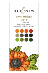 Altenew - Artist Markers - 12 color Set E