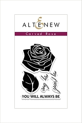 Altenew - Clear Stamps - Carved Rose