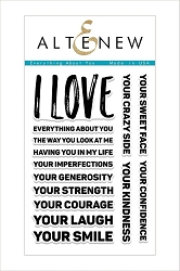 Altenew - Clear Stamps - Everything About You