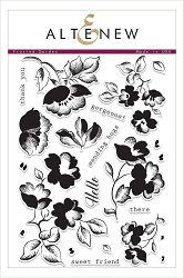 Altenew - Clear Stamps - Frosted Garden