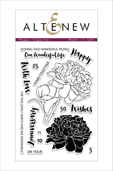Altenew - Clear Stamps - Happy Together