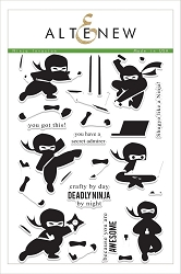 Altenew - Clear Stamps - Ninja Invasion