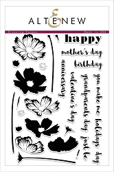 Altenew - Clear Stamps - Stunning Cosmos