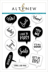 Altenew - Clear Stamps - Speech Bubbles