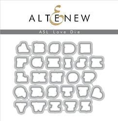 Altenew - Cutting Dies - ASL Love Die Set