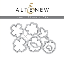 Altenew - Cutting Dies - Heart Flowers Die Set