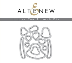Altenew - Cutting Dies - Love You So Mush Die Set