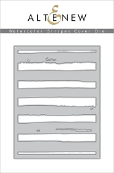 Altenew - Cutting Dies - Watercolor Stripes Cover Die