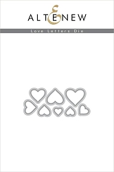 Altenew - Cutting Dies - Love Letters