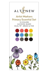 Altenew - Artist Markers - 12 color Primary Essentials Set