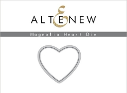 Altenew - Cutting Dies - Magnolia Heart