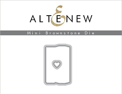 Altenew - Cutting Dies - Mini Brownstone