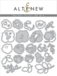 Altenew - Cutting Dies - Garden Picks 3D Die Set