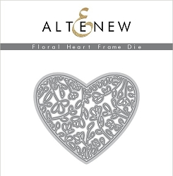 Altenew - Cutting Dies - Floral Heart Frame