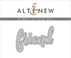 Altenew - Cutting Dies - Simply Friend