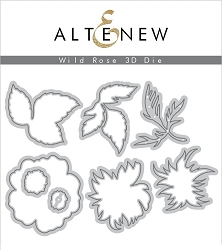 Altenew - Cutting Dies - Wild Rose 3D Die Set
