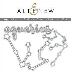 Altenew - Cutting Dies - Aquarius Zodiac Constellation Die