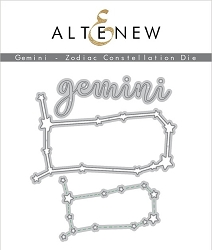 Altenew - Cutting Dies - Gemini Zodiac Constellation Die