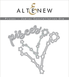 Altenew - Cutting Dies - Pisces Zodiac Constellation Die