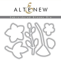 Altenew - Cutting Dies - Embroidered Blooms