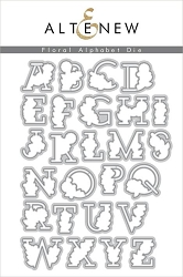 Altenew - Cutting Dies - Floral Alphabet