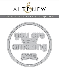 Altenew - Cutting Dies - Circle Embroidery Hoop