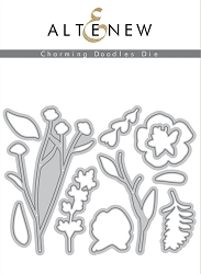 Altenew - Cutting Dies - Charming Doodles